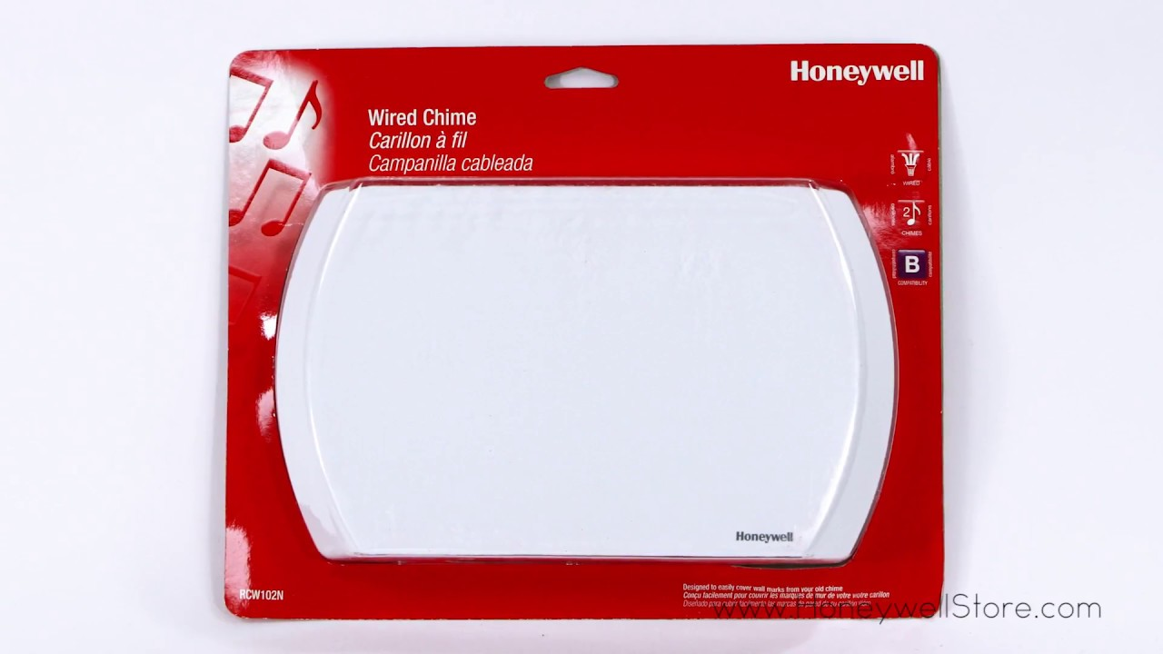 Honeywell Standard Wired Door Chime (RCW102N1006) - YouTube