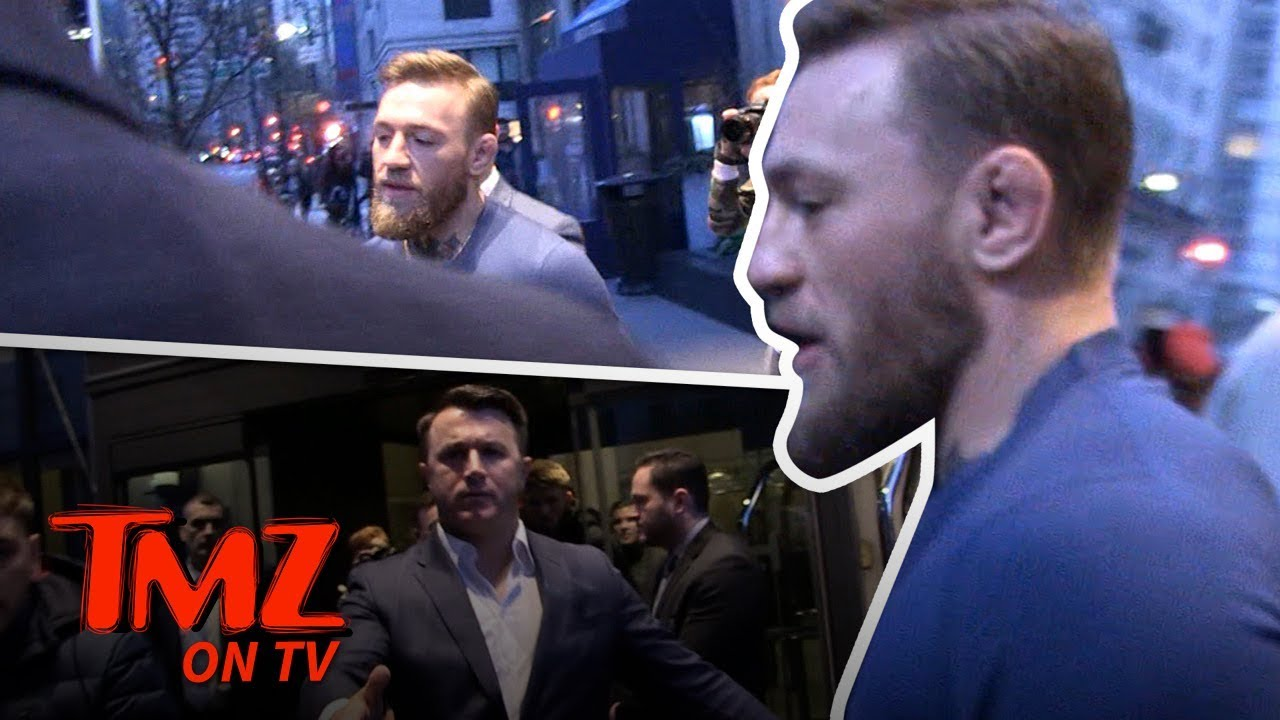 Conor McGregor keeps committing violent crimes on camera
