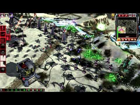 CnC Kanes Wrath 2vs2 brutals (nod & marked of kane vs scrin) HD