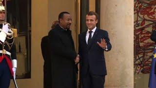 France\'s Macron meets with Ethiopia\'s reformist PM Abiy