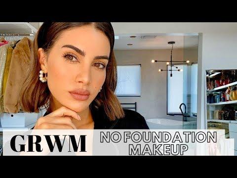 GRWM - NO FOUNDATION MAKEUP! thumbnail