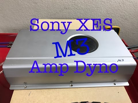 Sony XES M3 Amp Dyno
