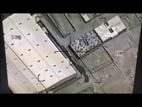 لحظات استهداف صالح الصماد من قبل طائرات التحالف