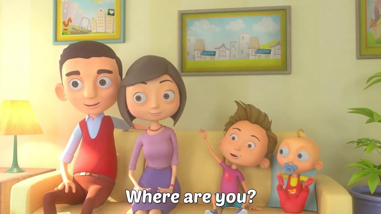The Finger Family - THE BEST Song for Children | LooLoo Kids TV