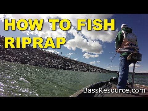 How To Fish Riprap | Bass Fishing