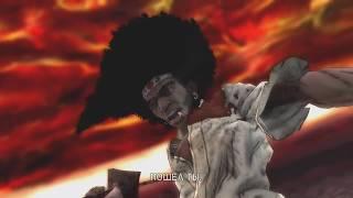 Скачать Перепрохождение Afro Samurai на Xbox360 режем всех в капусту часть 1 Начало На сложном