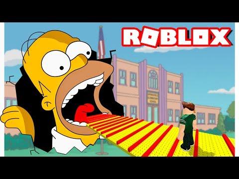 ESCAPA DE HOMERO SIMPSON | Roblox Escape Homer Obby en Español (Niveles 1 al 160)