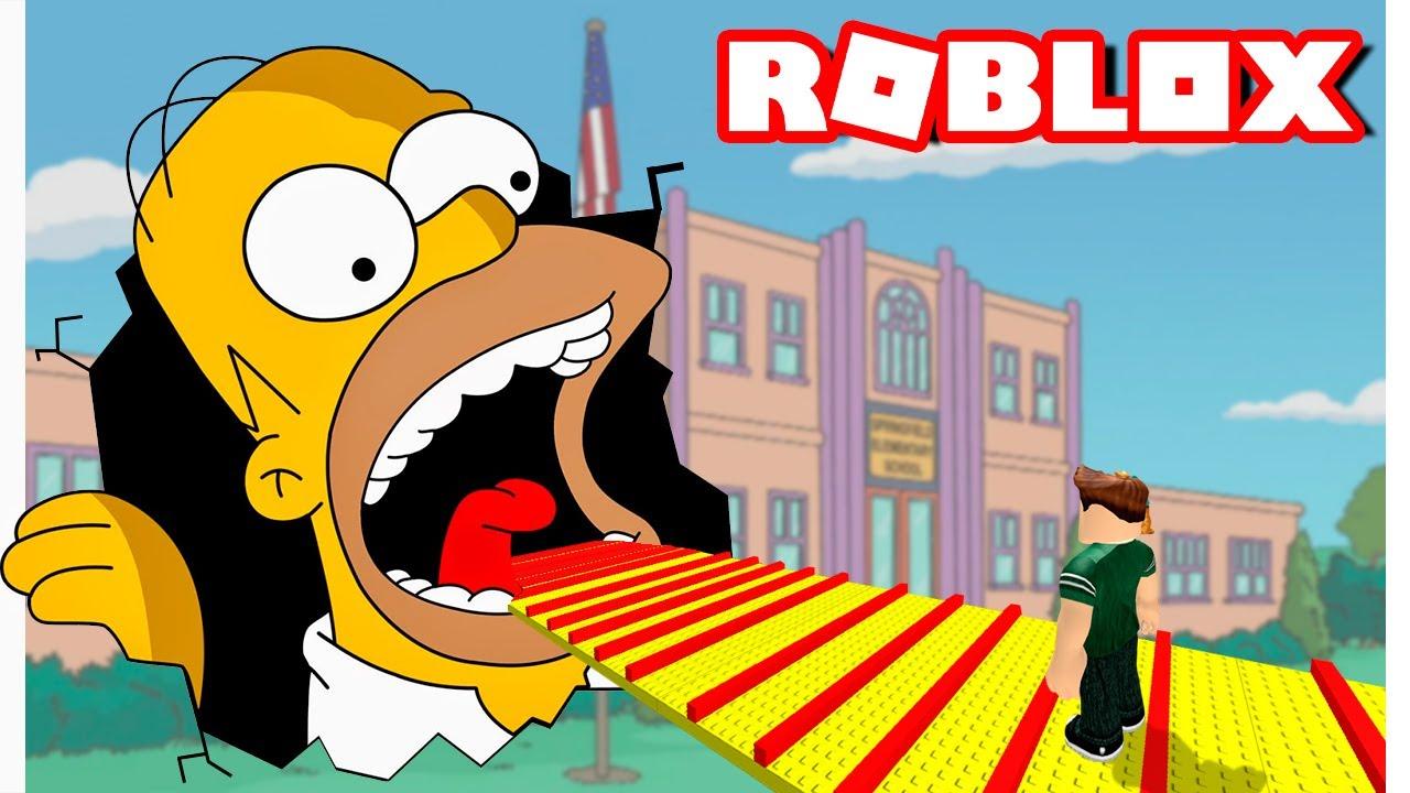 El Dentista Roblox Escape The Dentist Obby ᐈ Escapa De Homero Simpson Roblox Escape Homer Obby En Espanol Niveles 1 Al 160 Juegos Gratis En Linea