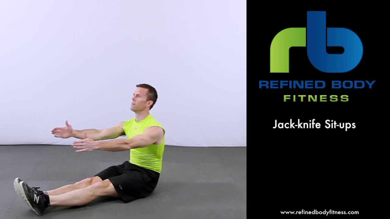 Jack Knife Sit Ups Exercise | www.imgkid.com - The Image ...