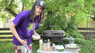 Cooking With The Purvs: Healthy Grilled Nectarine Salad