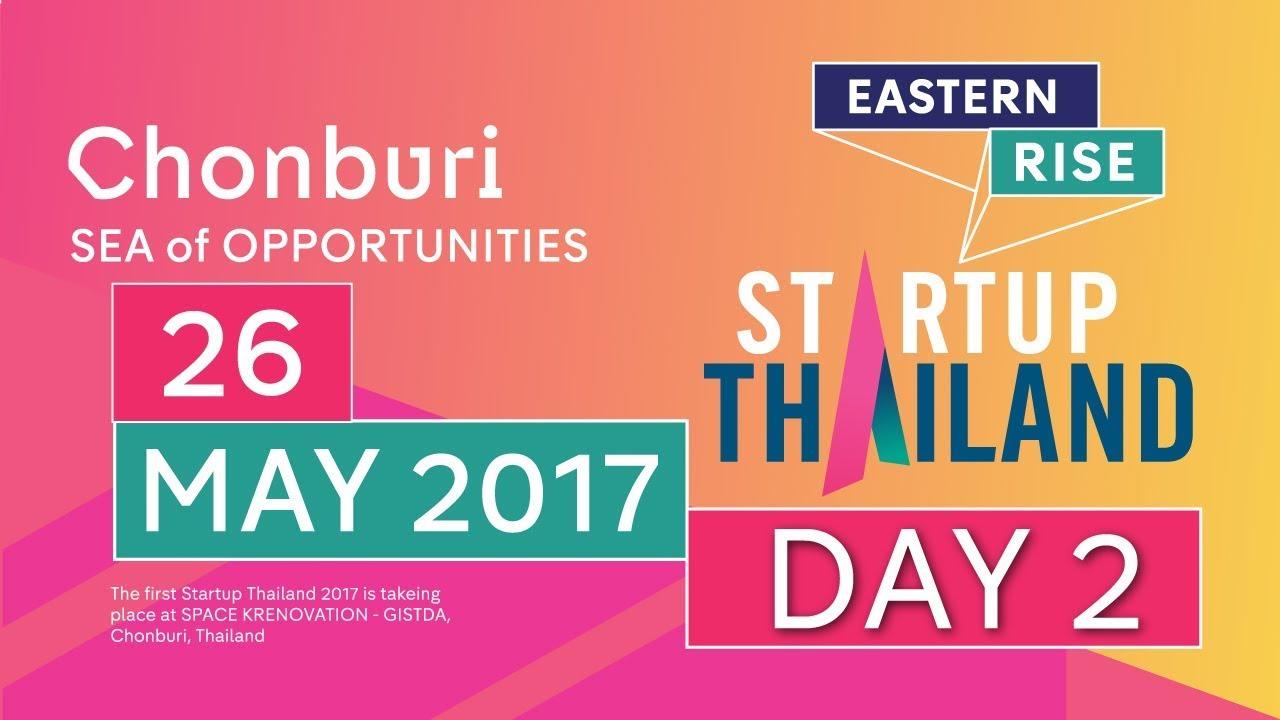 STARTUP Thailand 2017 @GISTDA | 27-05-60