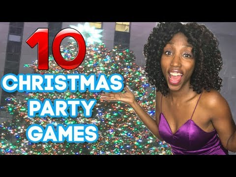 Christmas Games For Parties + Fun & New