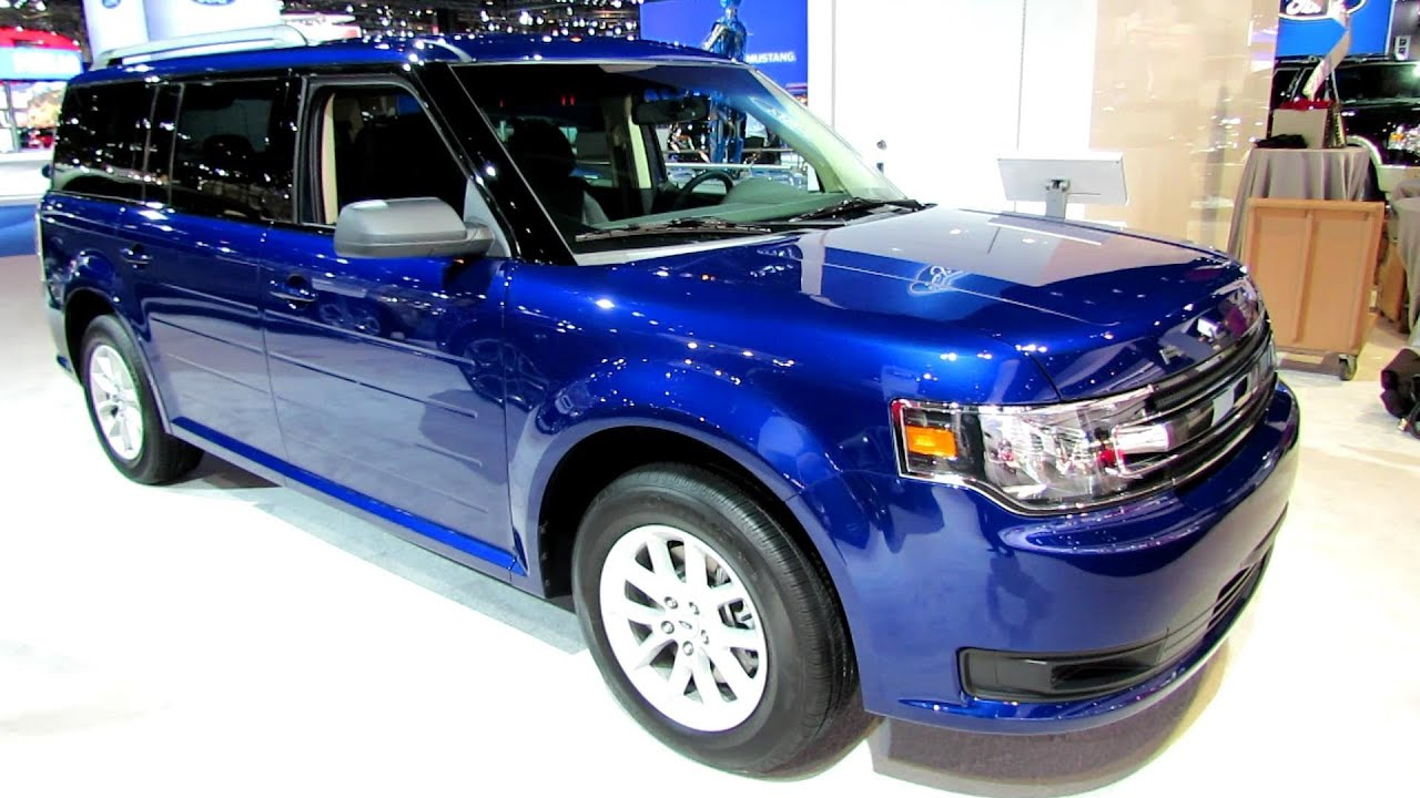 2014 Ford Flex SE - Exterior and Interior Walkaround - 2014 ...