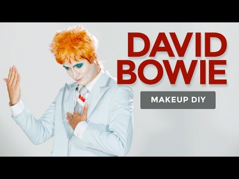 David Bowie Makeup Tutorial – Life on Mars Video