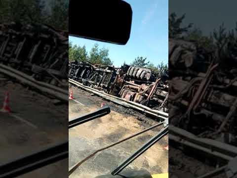 Дтп сгорели 2 фуры перезд А107-Носовихинское шоссе