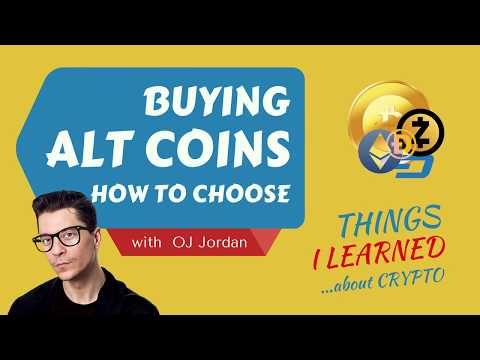 Alt Coins - How to choose? | BITCOIN SIMPLIFIED #10