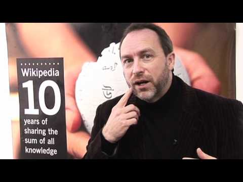 Jimmy Wales of Wikipedia interviewed by BBC Focus magazine
