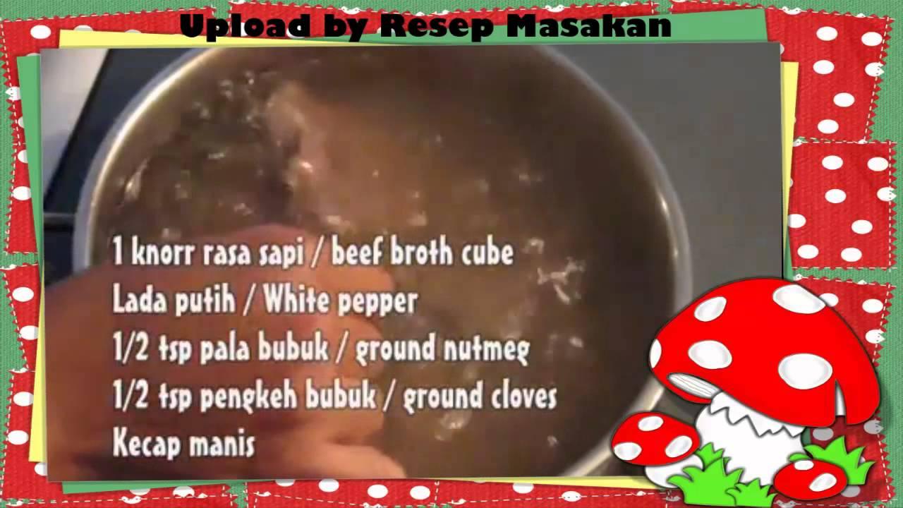 Resep Masakan Semur Lidah Sapi Enak Dan Lezat Roykp Rasa