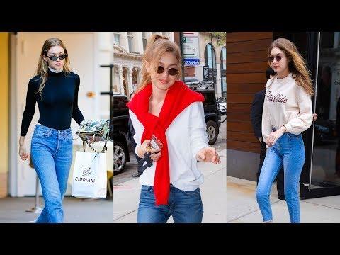 Gigi Hadid's Best Street Style - 2018