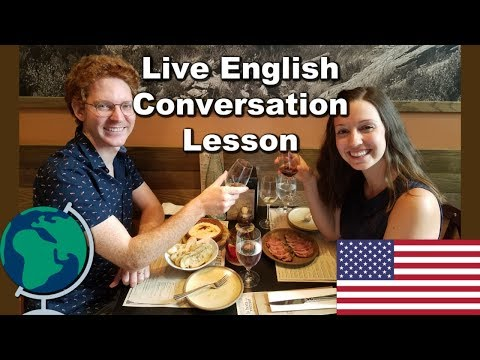 LIVE: English Conversation Lesson: Relationships!