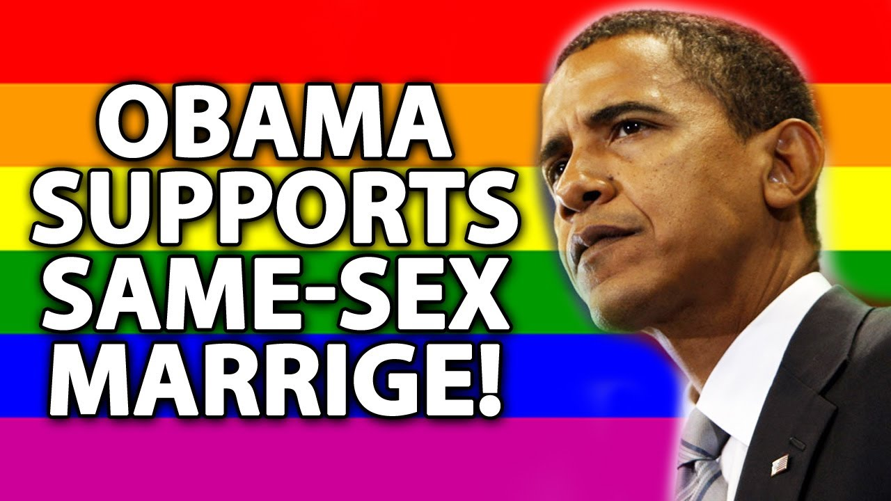 barack obama gay marriage
