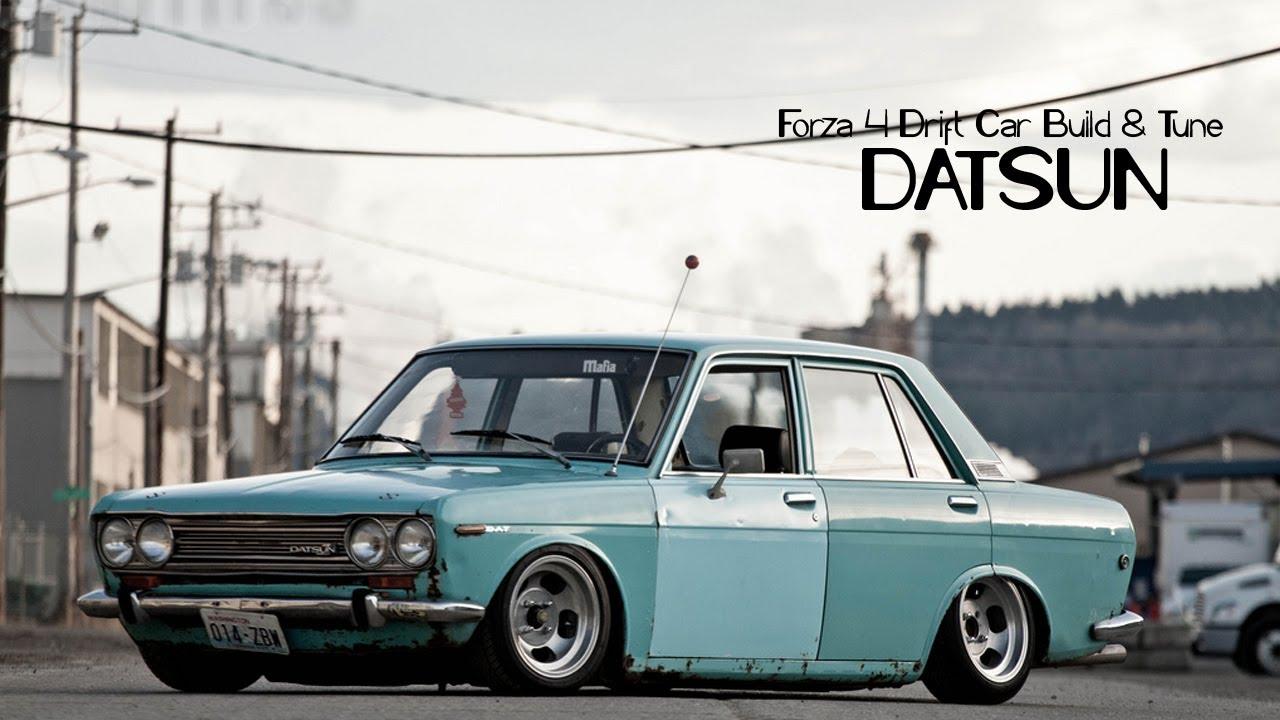 Forza 4 Drift Car Building & Tuning - #20 - Datsun - YouTube