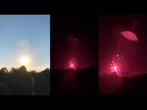 Výsledok vyhľadávania obrázkov pre dopyt Swarm of UFOs sighted near the Sun through infrared camera