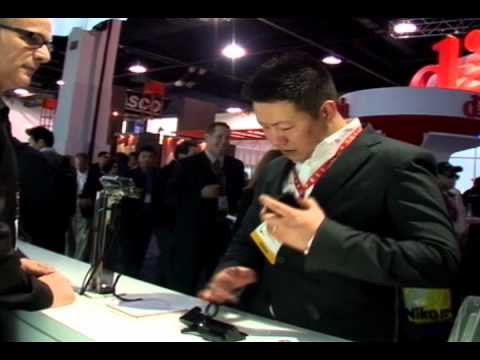 CES 2012 LG Mobile Communication Booth Sketch