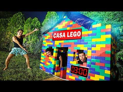 SUPER CASA DE LEGO AS 3 AM (assustador)