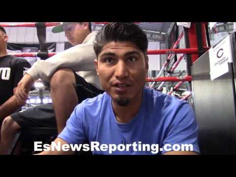 Mikey Garcia's reaction on Chavez jr would hurt GGG - EsNews Boxing