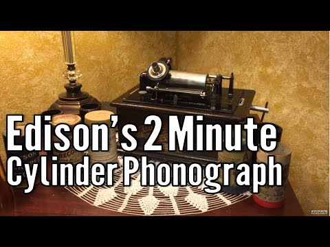 Antique Tech: Edison Standard Phonograph from 1903