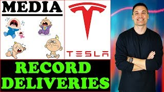 Tesla Broke Delivery Records! - And The Media Can't Stand It...