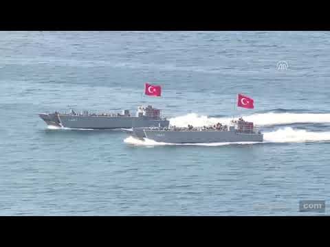EFES 2018 military drills continue in Turkey's Izmir
