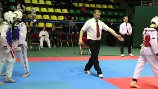 Юношеские игры боевых искусств - тхэквондо