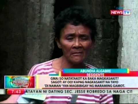 BP: Mga residente ng San Fernando, Cebu, naghain ng petition para ipasara ang isang cement plant