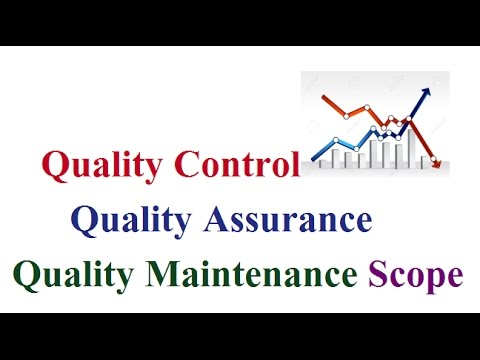 Career in Quality Control, Quality Assurance & Quality Maintenance in Industries (In Hindi)