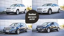 Käytetyt hybridit (~ 20 000 €): Peugeot 508 / Lexus RX400h / M-B E300 / Kia Niro
