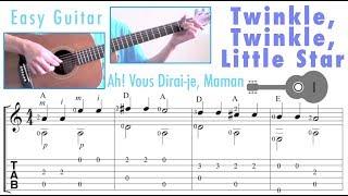 Twinkle, Twinkle, Little Star (Guitar) [Level: Beginner] 小星星 (吉他)