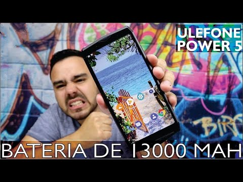 A MAIOR BATERIA DO MUNDO - Review  ANÁLISE  ULEFONE POWER 5