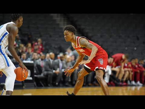 2019.11.28 NC State Wolfpack Vs #16 Memphis Tigers Basketball