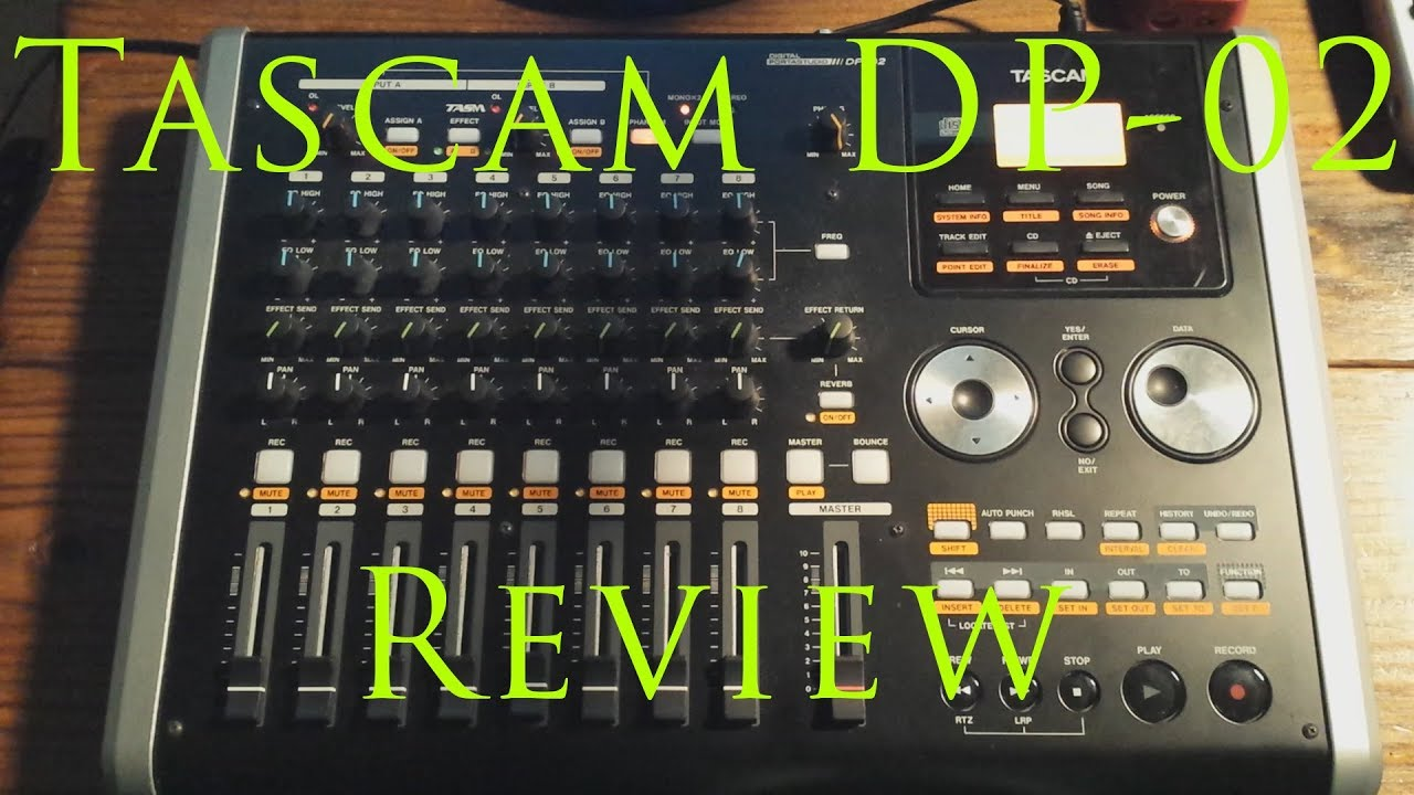 TASCAM DP-02 Review - YouTube