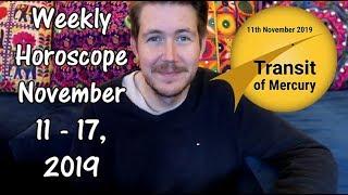 Weekly Horoscope for November 11 - 17, 2019 | Gregory Scott Astrology