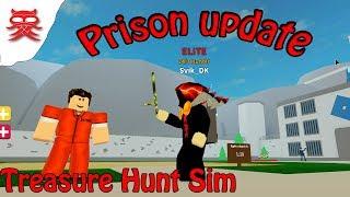 Prison Update - Treasure Hunt Sim - Dansk Roblox