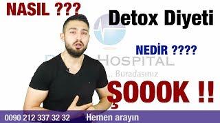 İşte Detox Diyeti Hakkında Bilmeniz Gereken Her Şey!