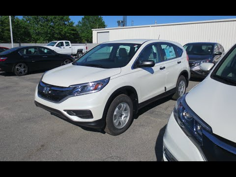 2016 Honda Cr V Lx Full Tour