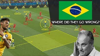 Where Brazil Went Wrong in the World Cup: In-depth Tactical Analysis [vs. Mexico & vs. Belgium]
