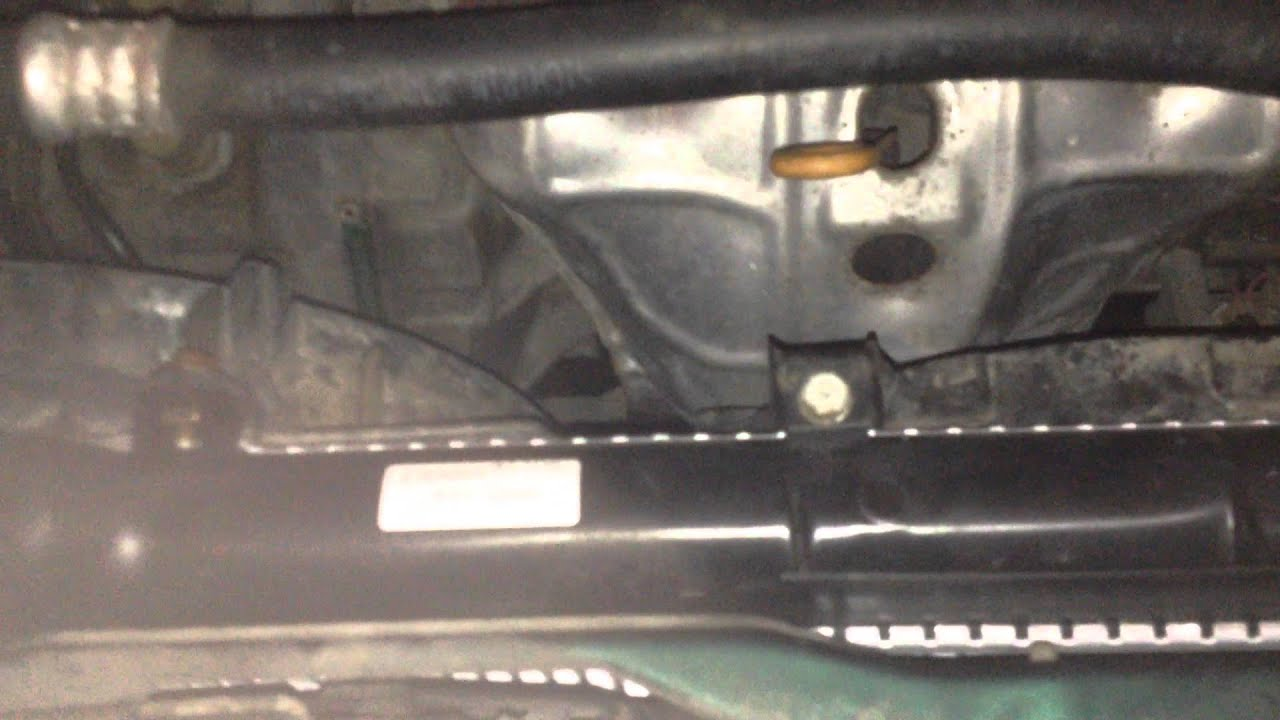 replace radiator   honda crv youtube