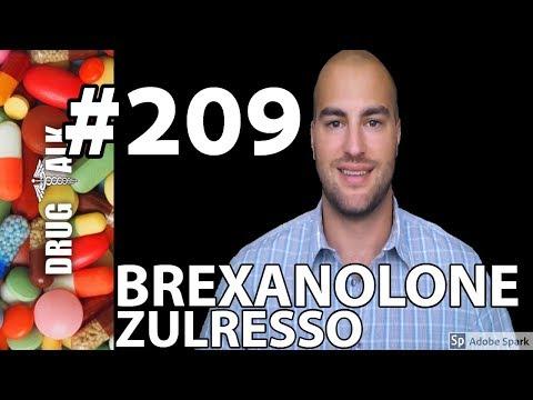 BREXANOLONE (ZULRESSO) PHARMACIST REVIEW #209