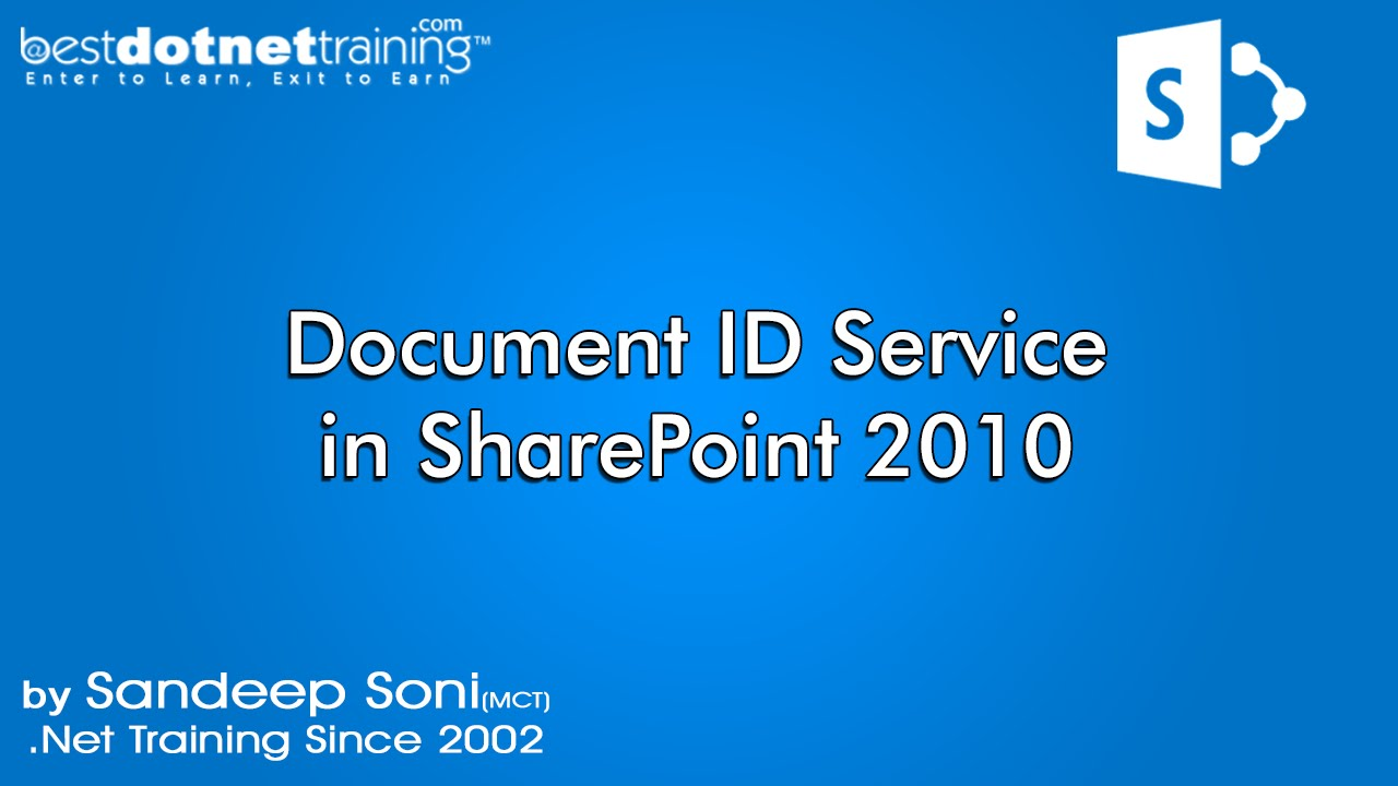 part 8 what is the significans of document id and document id