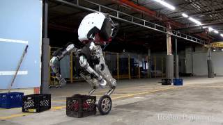 Boston Dynamics New 6.5 ft Jumping Robot